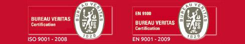 Galvanoplastie industrielle : certifications ISO 9001 - 2008 et EN 9001 - 2009